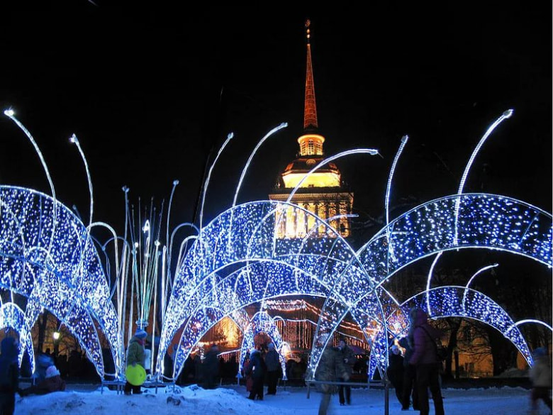 Новый год 2018 в санкт-петербурге за городом